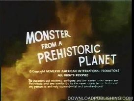 Monster From A Prehistoric Planet Movie 1967 Japanese Download .Mpeg | Movies and Videos | Action