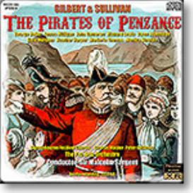 GILBERT & SULLIVAN The Pirates of Penzance, Sargent 1960, Stereo MP3 | Music | Classical