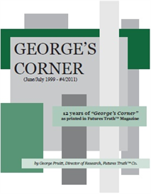 george's corner report by george pruitt