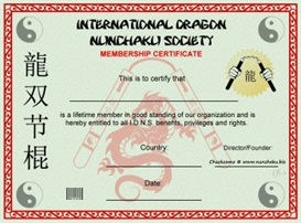 international dragon nunchaku society