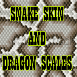 Snakeskin & Dragon Scales Airbrushing