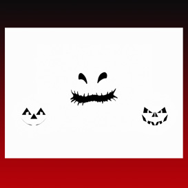 Nightmare Singing Pumpkins White Background, black faces  (No Sound) | Movies and Videos | Animation and Anime