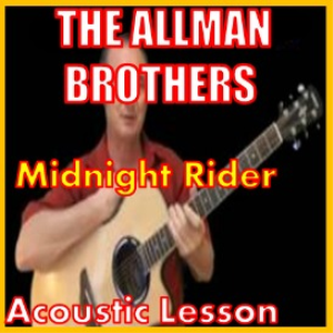 learn to play midnight rider by the allman brothers