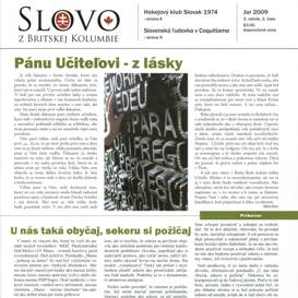 Slovo z Britskej Kolumbie No.06 - Jar 2009 | eBooks | Periodicals
