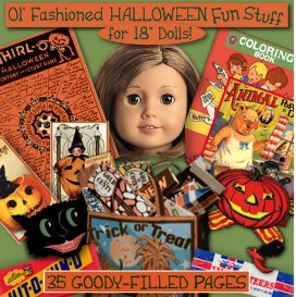 American Girl Halloween Printout FUNSTUFF e-booklet | Crafting | Paper Crafting | Paper Toys