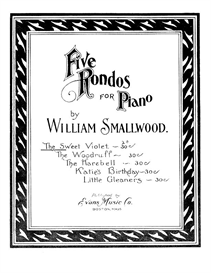 The Sweet Violet Rondo for Piano Sheet Music | Music | Instrumental