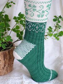 Beaded Shamrocks Socks knitting pattern - PDF   Other Files   Arts and Crafts