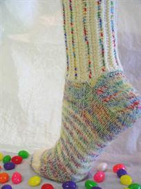 Mixed Jelly Bean Socks knitting pattern - PDF | Other Files | Arts and Crafts