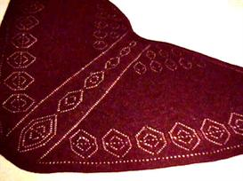 Pendants Faroese Shawl knitting pattern - PDF | Other Files | Arts and Crafts