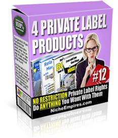 4 Private Label Products Volume #12 | Audio Books | Business and Money