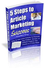 5 Steps To Article Marketing Success | Audio Books | Business and Money