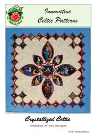Crystallized Celtic pattern | Crafting | Sewing | Quilting