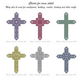 mini celtic cross collection 1