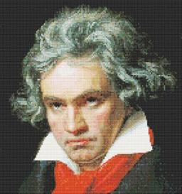 Beethoven Cross Stitch Pattern | Other Files | Patterns and Templates