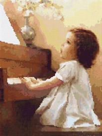 lizzie sings cross stitch pattern