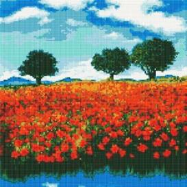 Poppy Field Cross Stitch Pattern | Other Files | Patterns and Templates