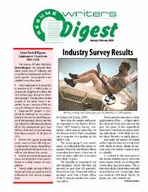 JanFeb2008 Resume Writers Digest | eBooks | Business and Money