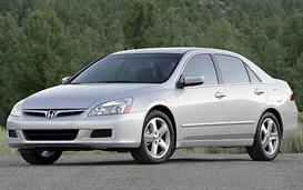 1997 Honda Accord Sedan V6 MVMA Specifications | Other Files | Documents and Forms