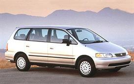 1997 Honda Odyssey MVMA Specifications | Other Files | Documents and Forms