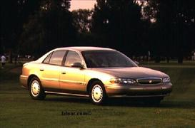 1998 Buick Century MVMA Specifications | Other Files | Documents and Forms