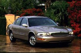 1998 Buick Park Avenue MVMA Specifications | Other Files | Documents and Forms