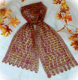 Colorful Splendor Lace Scarf knitting pattern - PDF | Other Files | Arts and Crafts