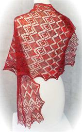 Faceted Gems Lace Wrap knitting pattern - PDF | Other Files | Arts and Crafts