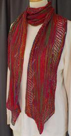 Diamond Lace Dress-it-up Scarf knitting pattern - PDF | Other Files | Arts and Crafts