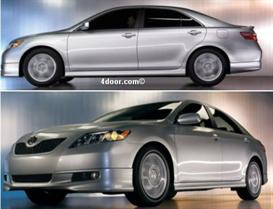 2007 Toyota Camry MVMA Specifications | Other Files | Documents and Forms