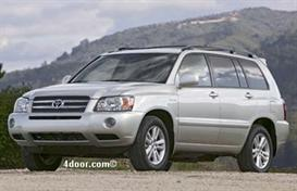 2007 Toyota Highlander MVMA Specifications | Other Files | Documents and Forms