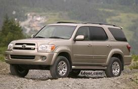 2007 Toyota Sequoia MVMA Specifications | Other Files | Documents and Forms