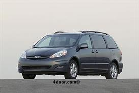 2007 Toyota Sienna MVMA Specifications | Other Files | Documents and Forms
