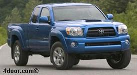 2007 Toyota Tacoma MVMA Specifications | Other Files | Documents and Forms