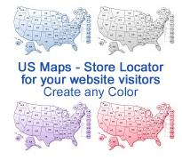 single site or single project license .psd - 11 u.s. maps + the original photoshop files .psd + html code