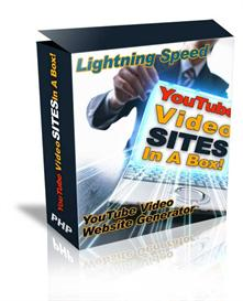 YouTube Video Sites Generator In A Box Pro