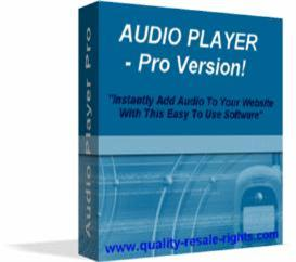 Audio player pro | Software | Audio and Video