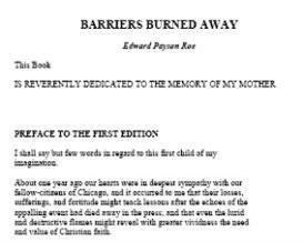 Edward Payson Roe eBooks | eBooks | Fiction