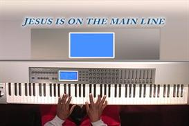 hymn, jesus on the mainline