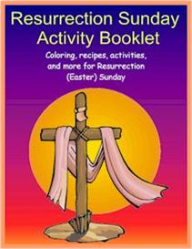 Resurrection Sunday Activity Booklet | eBooks | Education