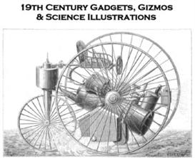19th Century Gadgets, Gizmos & Science Illustrations - PDF Scrapbook | eBooks | Science