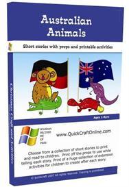 Children s ebooks australian animals short stories printable props