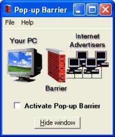 Pop-up Barrier | Software | Utilities