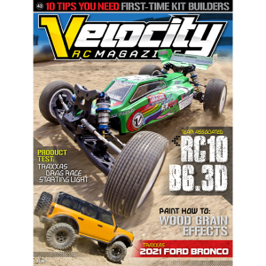 Velocity RC Magazine 1 Year Subscription