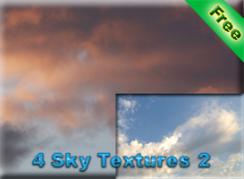 4 sky textures 2 for free