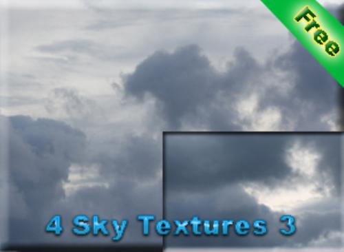 First Additional product image for - 4 Sky Textures 3 for free