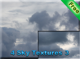 4 sky textures 3 for free