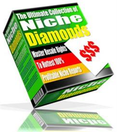 Niche Diamonds-The Ultimate Collection of Profitable Niche Reports | eBooks | Business and Money
