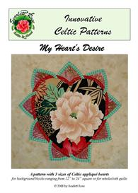 My Heart's Desire applique pattern | Crafting | Sewing | Quilting