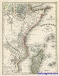 East Africa & Madagascar, Meyer, 1857 | Other Files | Stock Art