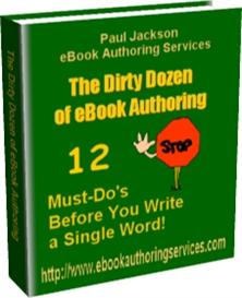 The Dirty Dozen of eBook Authoring | eBooks | Computers